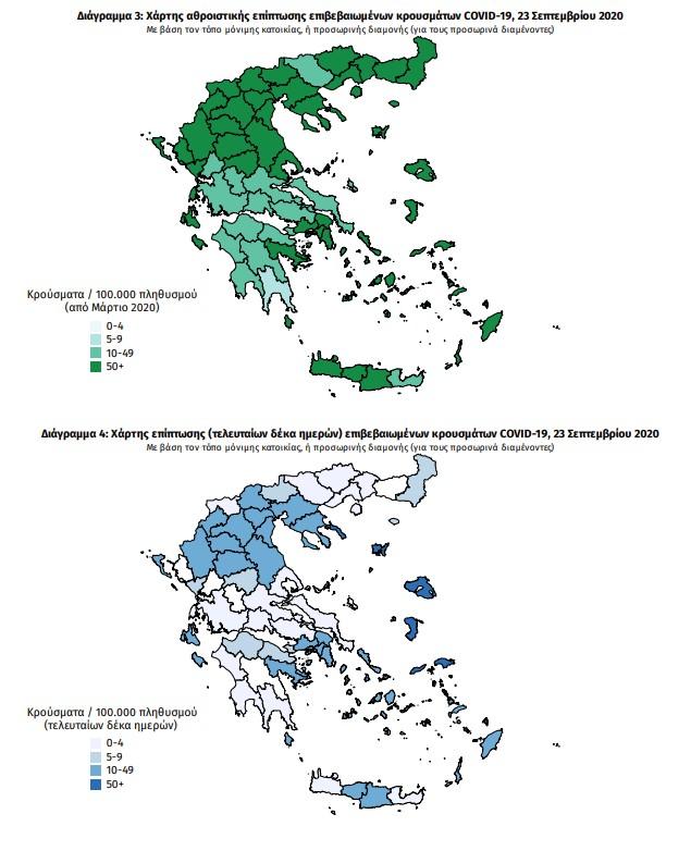Κοροναϊός : Καμπανάκι από τους επιστήμονες – «Ανησυχητικά τα στοιχεία, στην Αττική υπάρχει πρόβλημα» 3