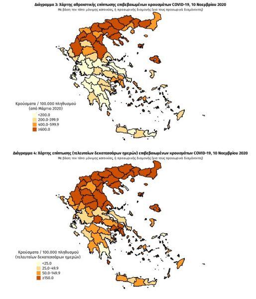 Κοροναϊός : Στο μικροσκόπιο Αττική και Β. Ελλάδα – Νέα μέτρα… εν μέσω lockdown; 27