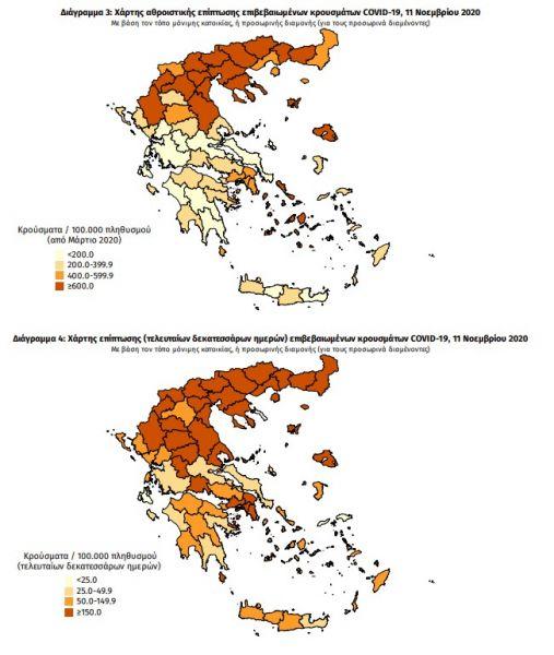 Κοροναϊός : Απαγόρευση κυκλοφορίας μετά τις 21:00 ενώ τα κρούσματα επιμένουν σε τετραψήφιο αριθμό 7