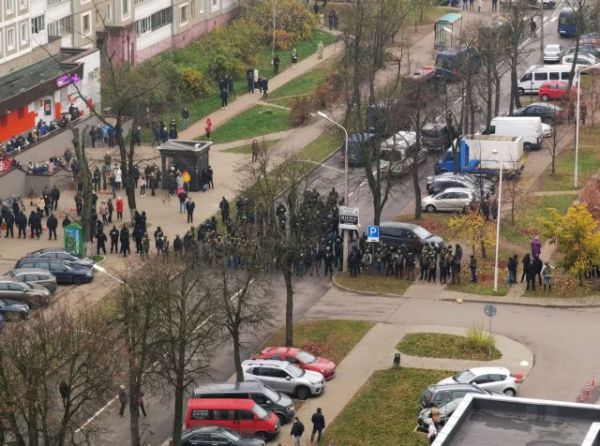 Λευκορωσία: Εκατοντάδες προσαγωγές διαδηλωτών στο Μινσκ και 146 συλλήψεις 1