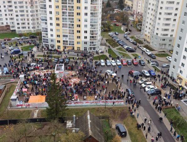 Λευκορωσία: Εκατοντάδες προσαγωγές διαδηλωτών στο Μινσκ και 146 συλλήψεις 3