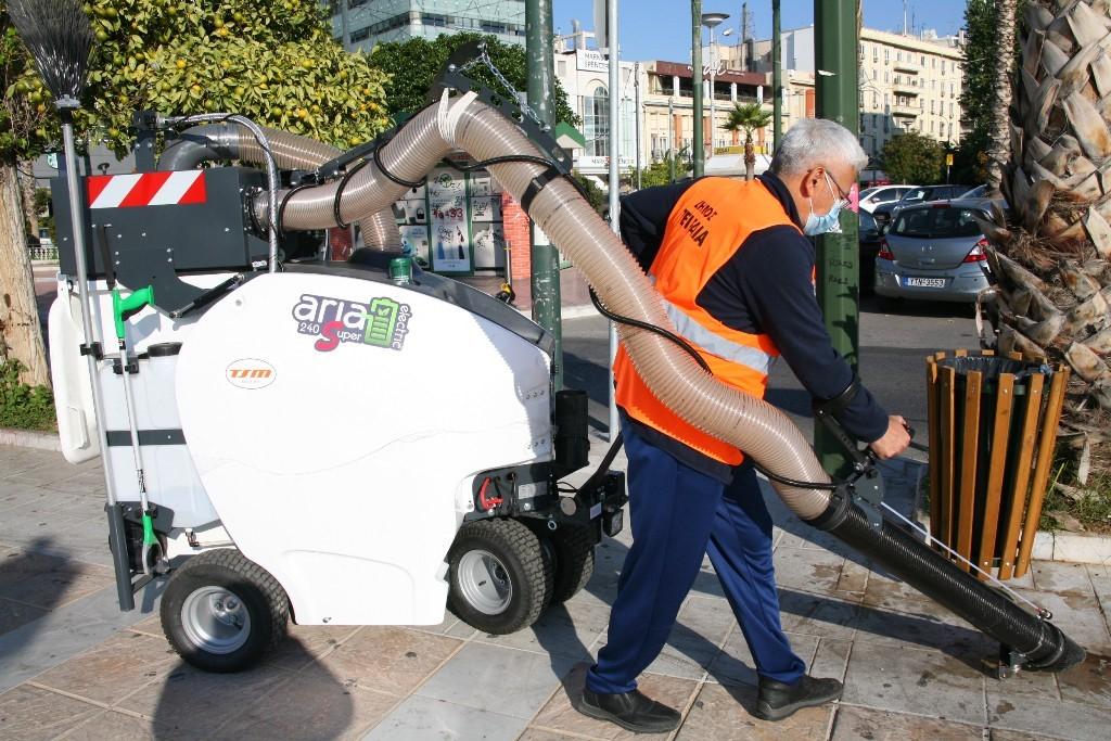 Δήμος Πειραιά:  Με νέο καινοτόμο εξοπλισμό ενισχύεται ο τομέας καθαριότητας 3